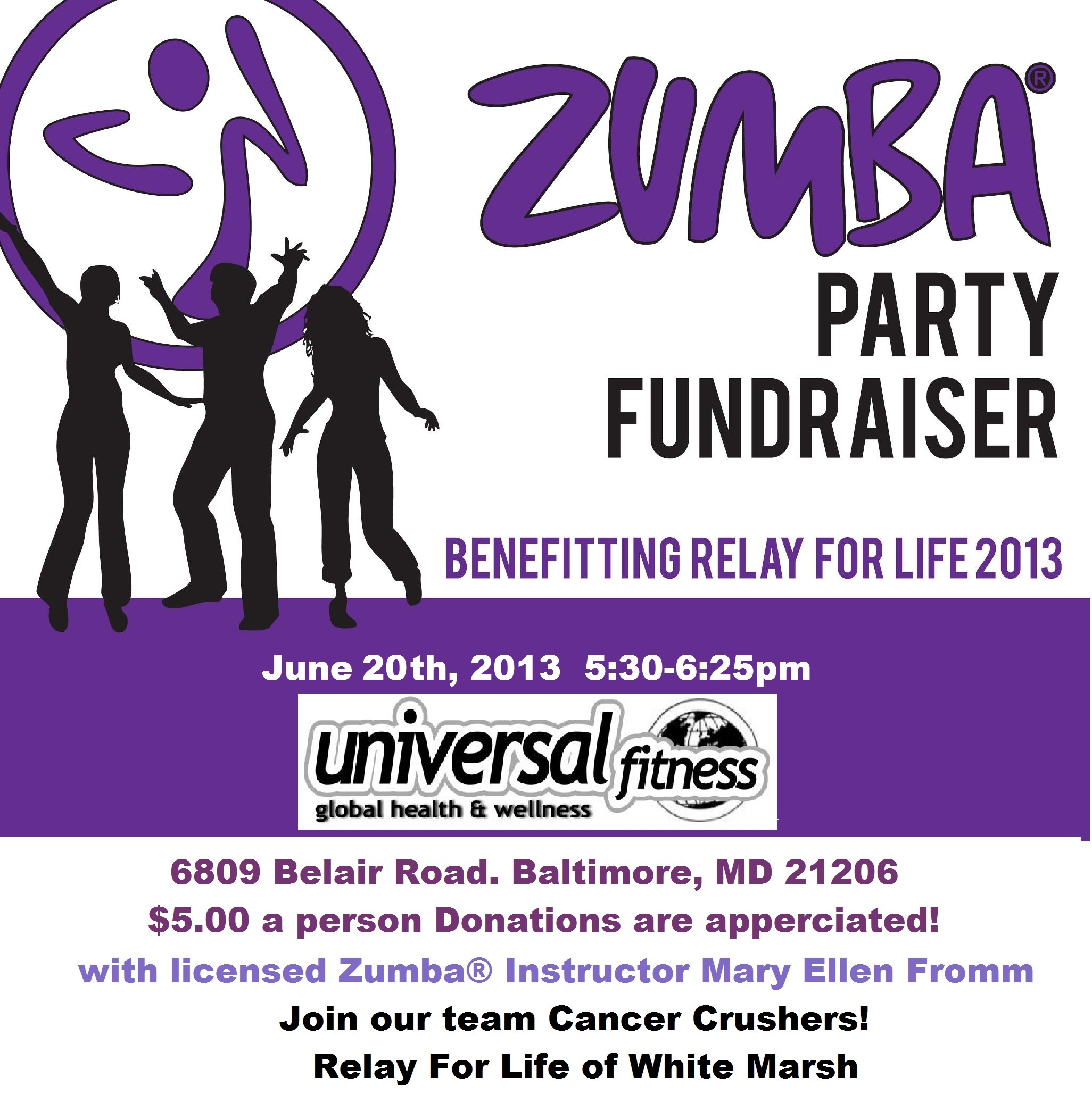 Uncategorized mary ellen baltimore zumba rescheduled zumba fitness fundraiser stopboris Image collections