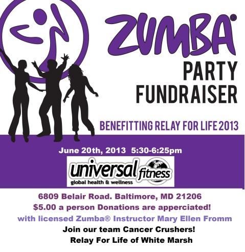 reschedualedrelayfor life fundraiser